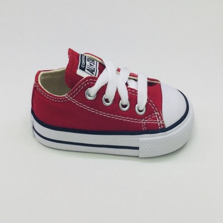 LONA CONVERSE RED